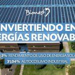 Autoconsumo industrial. Energía solar.