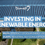 Industrial self-consumption. Solar energy.